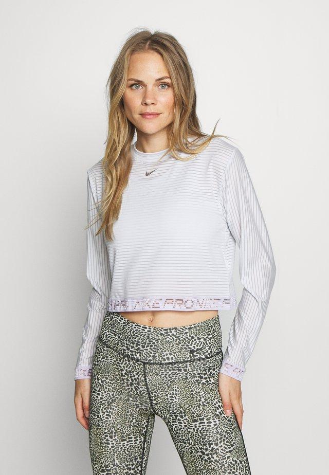 Sports shirt - photon dust/infinite lilac/metallic silver