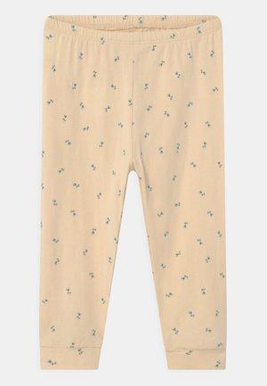 BASIC PANTS - Broek - beige/blue