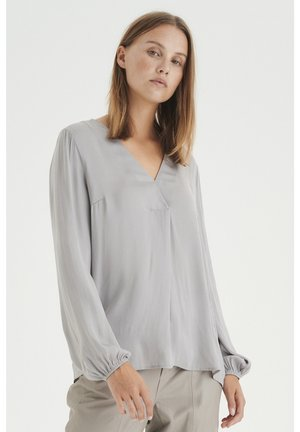 Blouse - ash grey