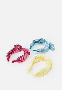 OVS - GIRL HEAD BAND3 PACK - Příslušenství kvlasovému stylingu - scarlet sage/primrose yellow/porcelain - 1
