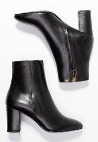 Filippa K - MIRANDA HIGH BOOTIE - Classic ankle boots - black - 3
