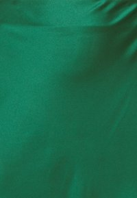 Glamorous Curve - MIDI SKIRT - Maxi skirt - dark green satin - 2