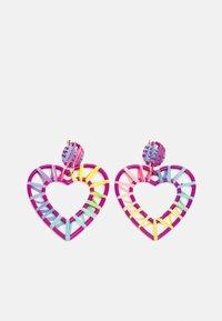 Pieces - PCPHILIS EARRINGS - Earrings - pastel lavender/multi - 0