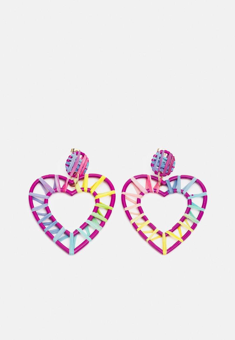 Pieces - PCPHILIS EARRINGS - Earrings - pastel lavender/multi
