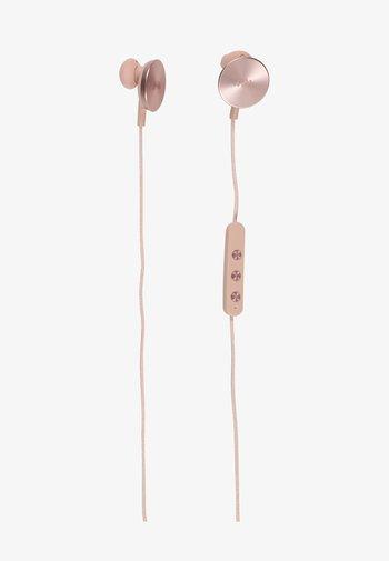BUTTONS  - Headphones - rose