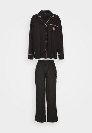 PANTS - Pyjamas - black