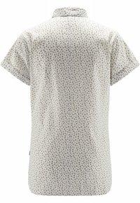 Haglöfs - IDUN SS SHIRT - Button-down blouse - soft white flower - 5