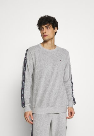 Nattøj trøjer - mid grey heather