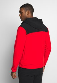 The North Face - MENS GLACIER FULL ZIP HOODIE - Fleecová bunda - fiery red/black - 2