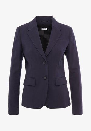 BOULDER - Blazer - blue denim