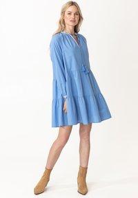 Indiska - ESTELLE - Korte jurk - blue - 1