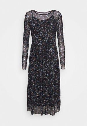 ONLKARMA O NECK DRESS - Kjole - black