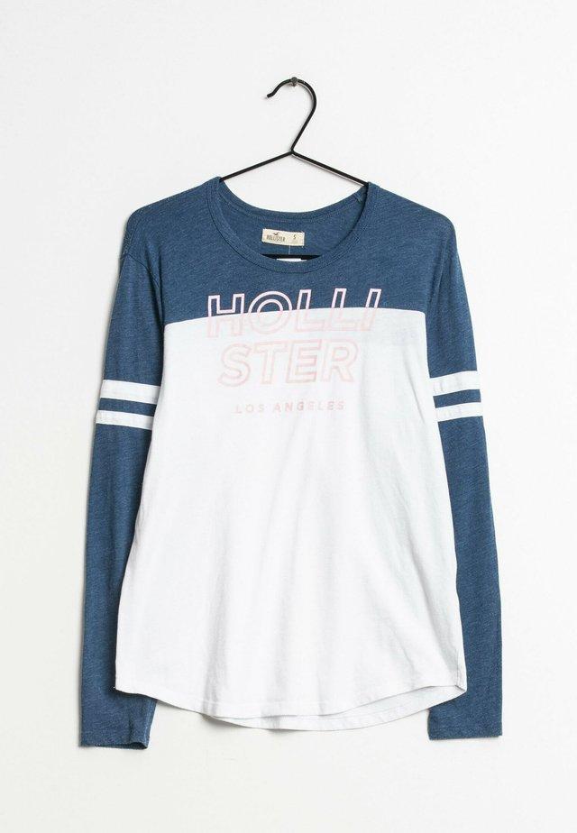 Camiseta de manga larga - blue/white