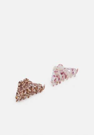 PCJANITO HAIR SHARK 2 PACK - Hair styling accessory - misty rose/bison
