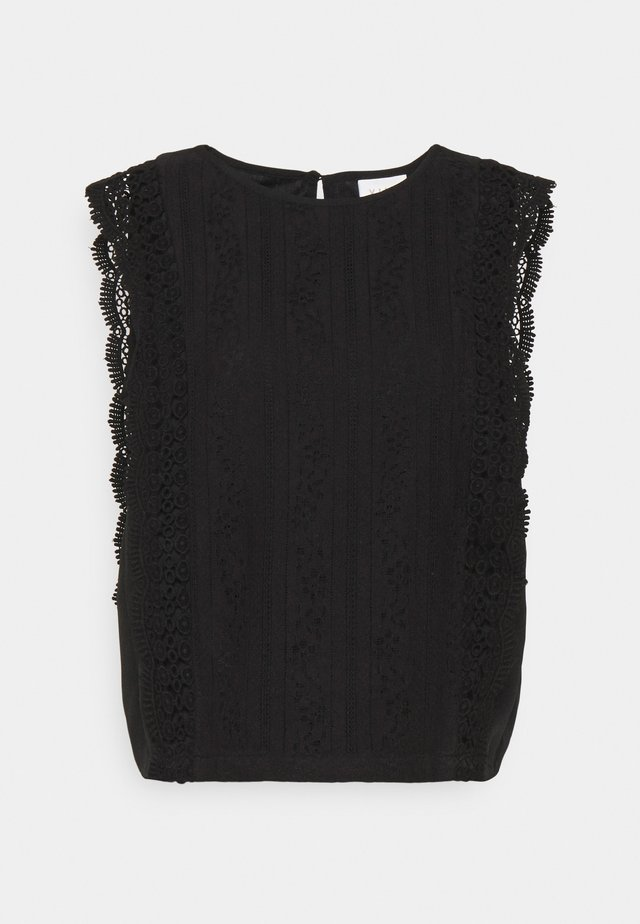 VIARON - Blouse - black