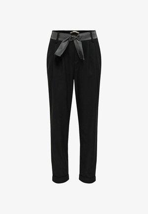 HOSE LOOSE FIT - Pantalon classique - black