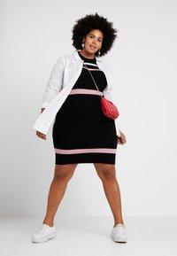 Anna Field Curvy - Shift dress - black - 2