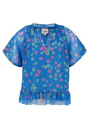 Blouse - turquoise multi