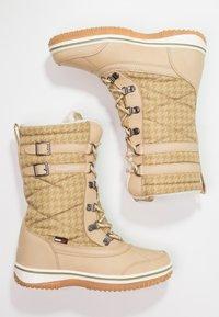 KangaROOS - RIVASKA - Winter boots - beige/green/white - 2