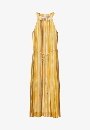 LANG - Vestido informal - yellow/cream
