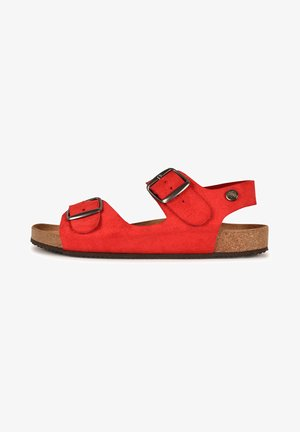 CAJOU F2G - Walking sandals - red