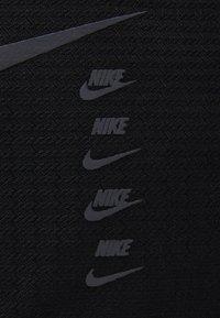 Nike Performance - DUFF UNISEX - Sportväska - black/black/black - 5