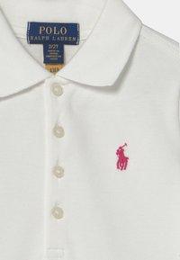 Polo Ralph Lauren - EYELET - Polotričko - white/accent pink - 2
