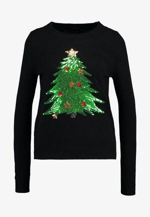 VMSHINY CHRISTMAS TREE - Pullover - black