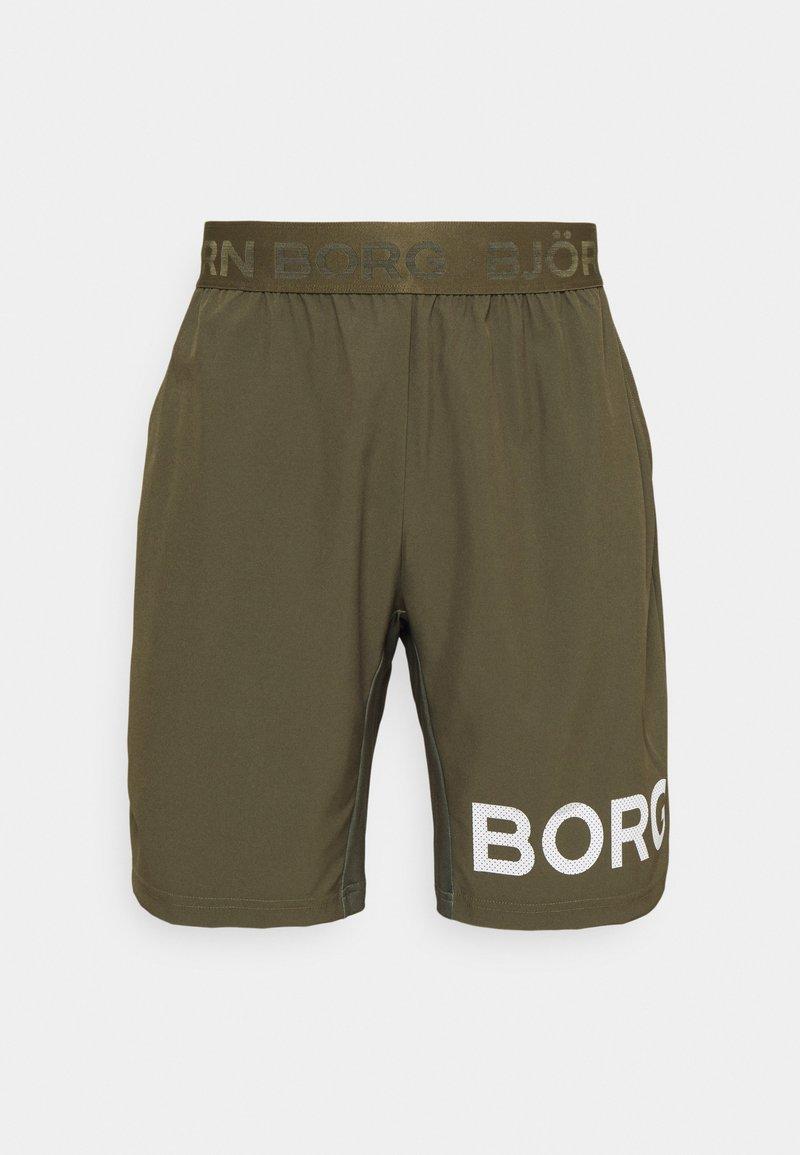 Björn Borg - SHORTS - Korte sportsbukser - ivy green