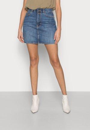 FALDA - Mini skirt - medium blue