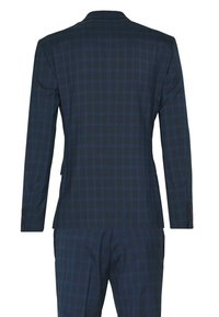 Isaac Dewhirst - RECYCLED CHECK - Oblek - dark blue - 1