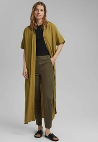 Esprit Collection - Trousers - dark khaki - 5