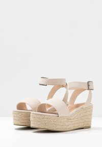 Rubi Shoes by Cotton On - CRYSTAL WEDGE - Espadrillot - stone - 4