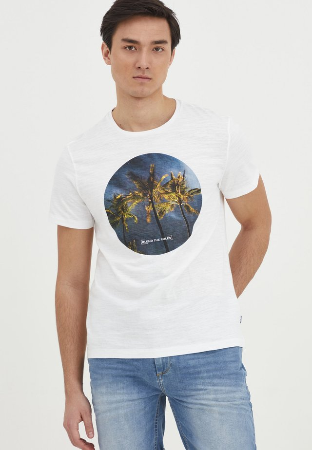 TEE - T-shirt con stampa - bright white