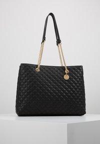 Forever New - QUILTED SHOULDER BAG - Handbag - black - 1