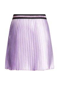 WE Fashion - Pleated skirt - purple - 1