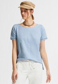 comma casual identity - Basic T-shirt - powder blue - 0
