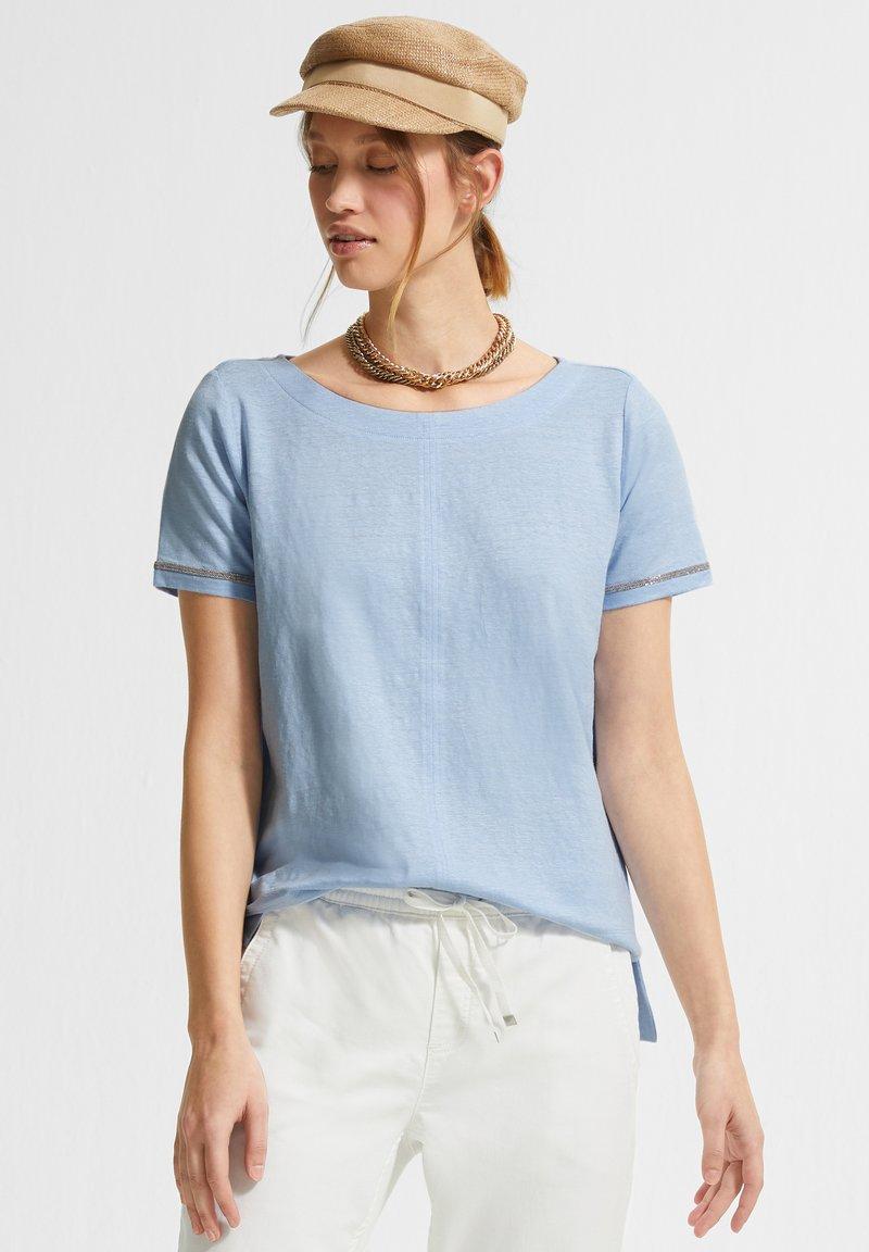 comma casual identity - Basic T-shirt - powder blue