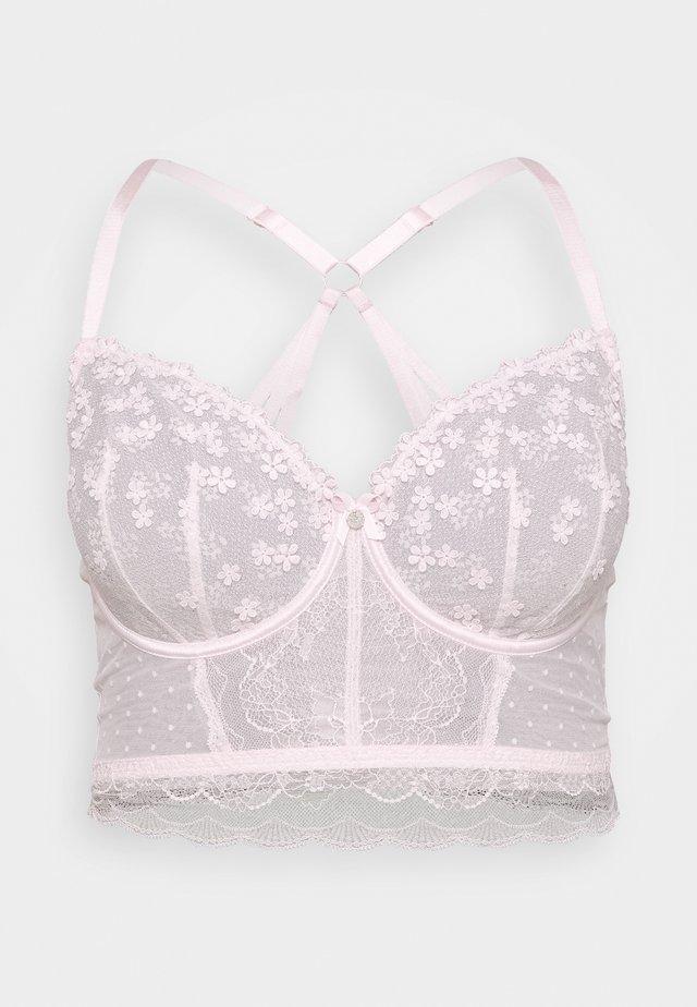 NETTIE LONGLINE - Underwired bra - powder pink