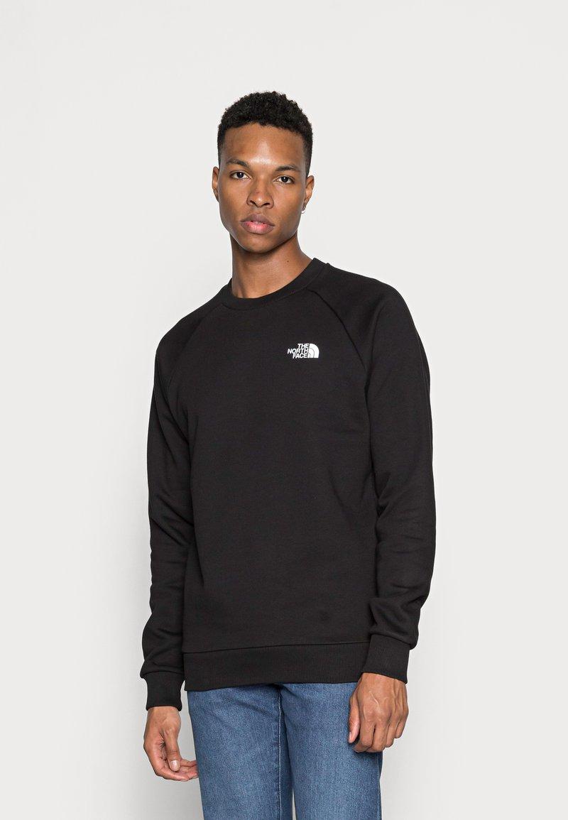 The North Face - RAGLAN REDBOX CREW NEW  - Sweatshirt - black