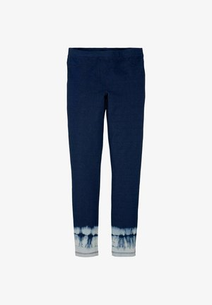 Leggings - Trousers - kids blue denim