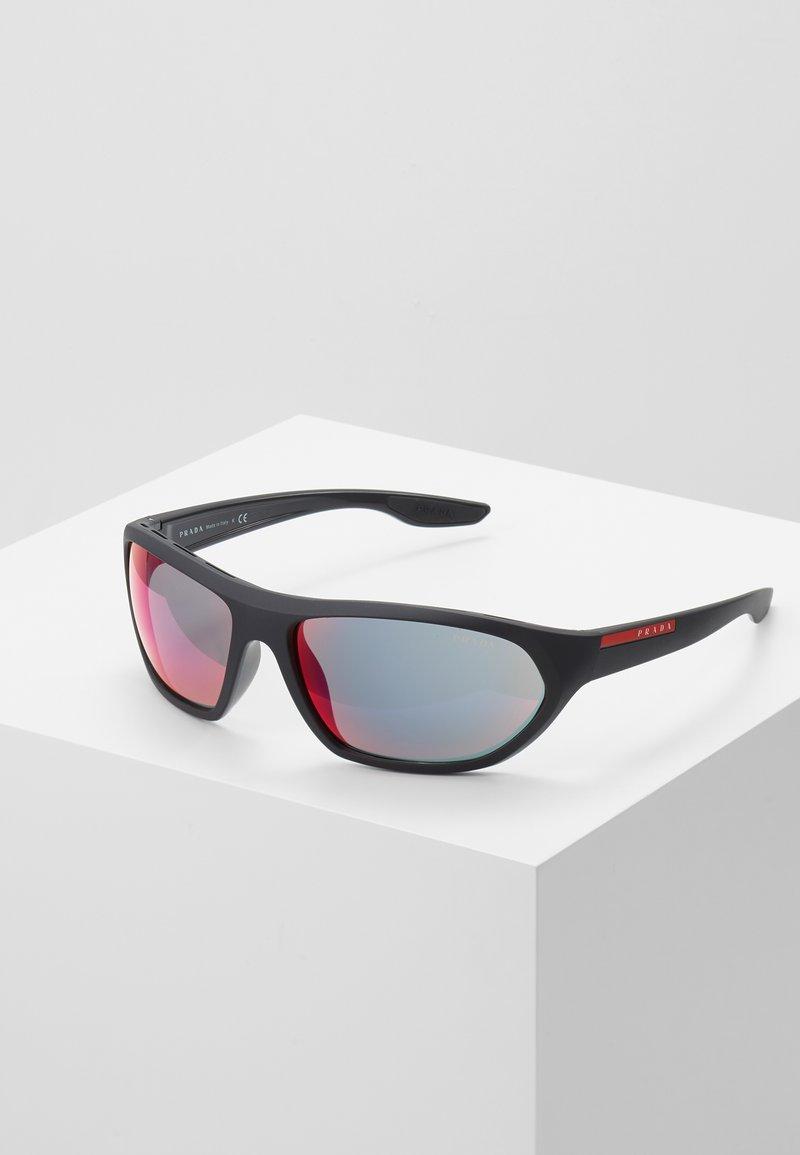 Prada Linea Rossa - Sunglasses - black/blue/red