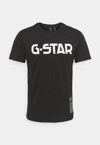 G-Star - R T S\S - T-shirt con stampa - dark black - 0