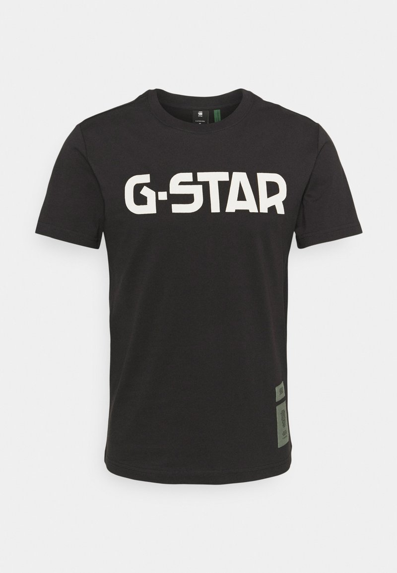 G-Star - R T S\S - T-shirt con stampa - dark black