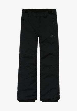 OLLY UNISEX - Snow pants - jet black