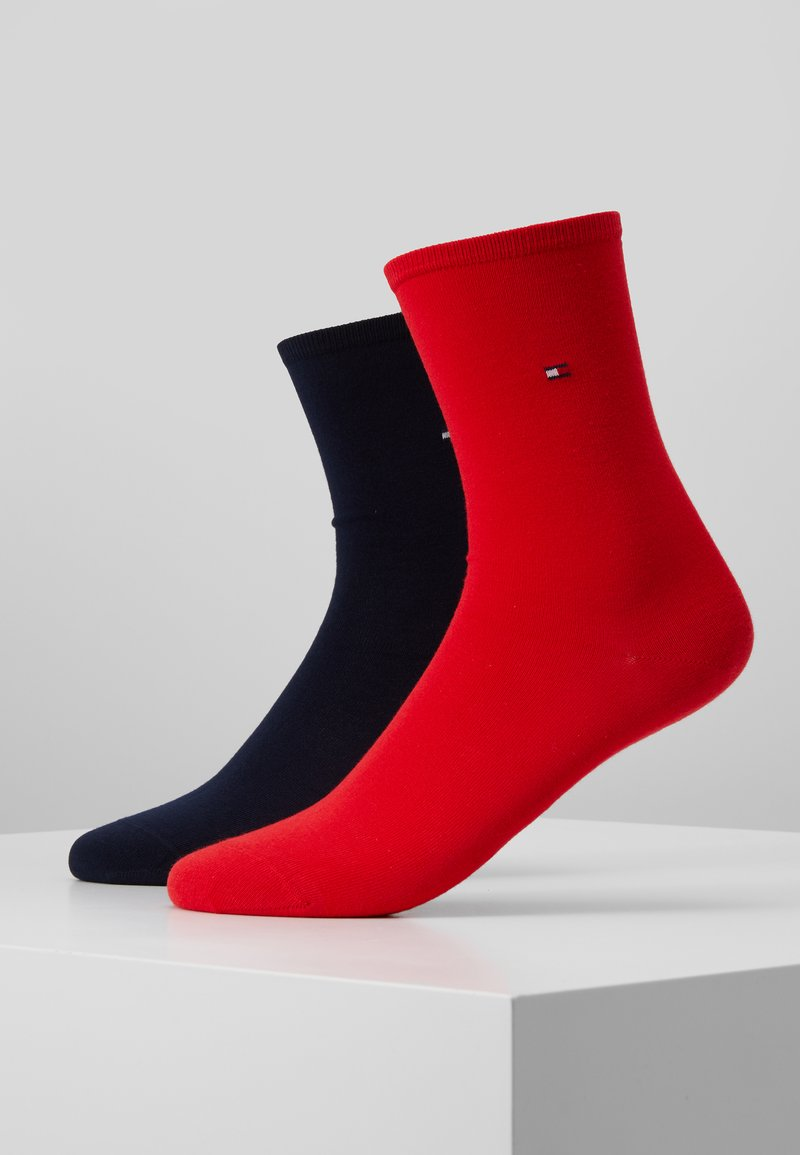 Tommy Hilfiger - WOMEN SOCK CASUAL 2 PACK - Socks - red