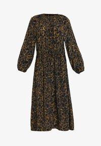 JUST FEMALE - MIE MAXI DRESS - Maxi dress - black/yellow - 5