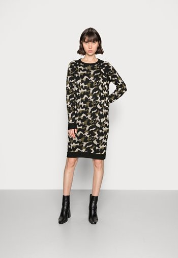 ABITO MAGLIA - Jumper dress - verdone