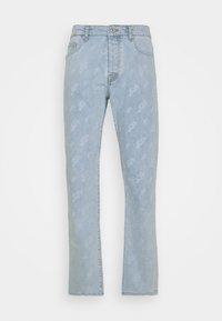 Pegador - SEVILLA PATTERN JEANS - Straight leg jeans - light blue - 7
