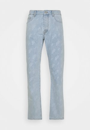 SEVILLA PATTERN JEANS - Džíny Straight Fit - light blue